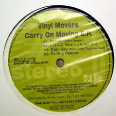 "Vinyl Movers ‎– Carry On Moving EP 12"" Club Kids ‎– CKD 003"