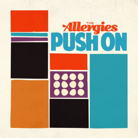 The Allergies ‎– Push On - Jalapeno Records ‎– JAL 248V