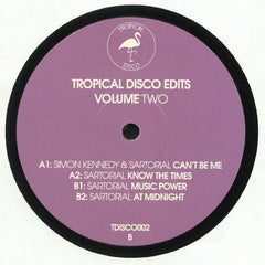 Various ‎– Tropical Disco Edits Volume Two - Tropical Disco ‎– TDISCO002