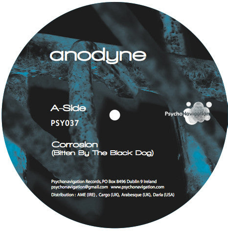 Anodyne - The Remixes EP - Psychonavigation Records ‎– PSY037