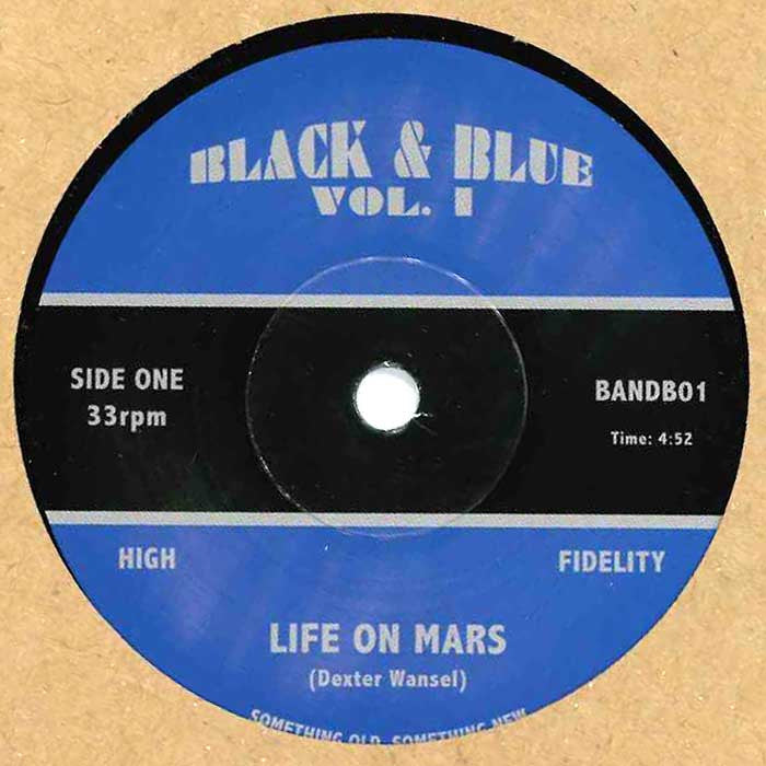 "Dexter Wansel / Letta Mbulu - Life On Mars / What's Wrong With Groovin' 7"" BANDB01 Black & Blue RSD"