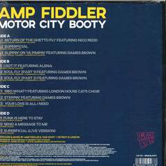 Amp Fiddler ‎– Motor City Booty - Midnight Riot Recordings ‎– BRMCBLP001