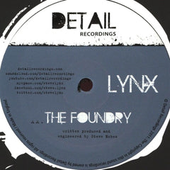 "Lynx - Chess Funk / The Foundry 12"" Detail Recordings Detail 004"