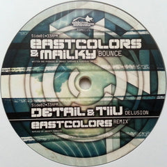 "Eastcolors ‎– Times / Bounce / Delusion 12"" Addictive Behaviour Records ‎– ABREC15"
