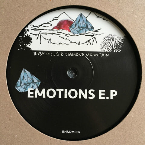 "Various ‎– Emotions EP 12"" Ruby Hills & Diamond Mountain ‎– RH&DM002"