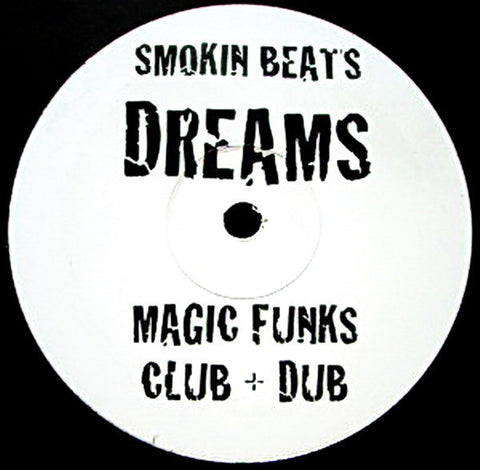 "Smokin Beats ‎– Dreams (Underground Mixes) 12"" Smokin Beats ‎– DR1"
