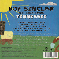 Bob Sinclar Feat. Farrell Lennon - Tennessee (CD) D:vision Records 1723046