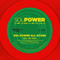 Sol Power All-Stars ‎– Djidjo Vide - Sol Power Sound ‎– SOLPS004