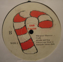"Various ‎– Ear Candy 12"" PROMO (A Cappellas Series) ‎– WOS 1"