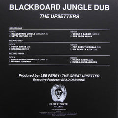 "The Upsetters - Blackboard Jungle Dub 3x10"" Repess Get On Down GET-56005-10"