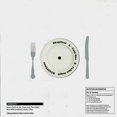 "Skeptical - Cold One / Fallen Angel 12"" Ingredients Records RECIPE010"