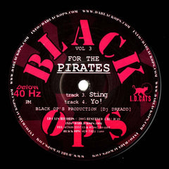 "Dj Dreadd - For The Pirates Vol 3 12"" JC49 Black Ops, L.D. Cats Records"