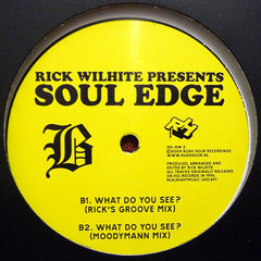 Rick Wilhite ‎– Soul Edge - Rush Hour Recordings ‎– RH-RW2