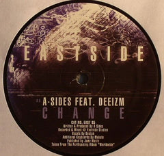 "A-Sides, Kemo, Deeizm - Argot / Change 12"" Eastside Records EAST 85"
