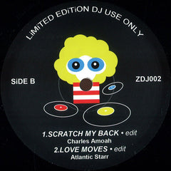 "Various ‎– Spacer 12"" Boogie Down ‎– ZDJ002"