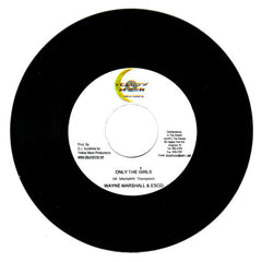 "Black-er, Wayne Marshall & Esco - She Own Di Man / Only The Girls 7"" Yellow Moon Records"