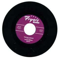 "Ann Leonardo, The Bill Johnson Quintet ‎– Traveling Stranger 7"" Fryers ‎– Fry.027"
