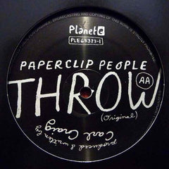 "LCD Soundsystem / Paperclip People - Throw 12"" Planet E PLE65323-1"
