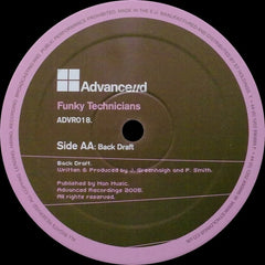 "Funky Technicians - Desperate Housewives / Back Draft 12"" Advance//d Recordings ADVR018"