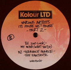 "Various ‎– It's House Not House – Part 2 12"" REPRESS Kolour LTD ‎– KLRLTD014"