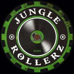 ILK, KeeZee, Necrotype ‎– Rollerz Vol 4 - Jungle Rollerz ‎– RZ004