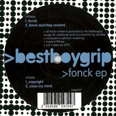 "Bestboygrip - Fonck EP 12"" Keep Up! KEEP 007"