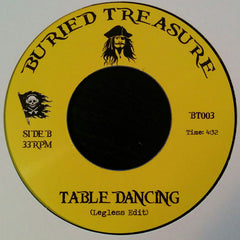 "Unknown Artist ‎– Let Yourself Go / Table Dancing 7"" Buried Treasure ‎– BT003"