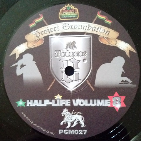 "Various ‎– Half-Life Volume 8 12"" Project Groundation ‎– PGM 027"