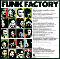 Funk Factory ‎– Funk Factory - Be With Records ‎– BEWITH016LP