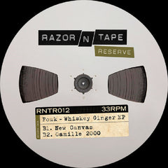"Fouk ‎– Whiskey Ginger EP 12"" REPRESS Razor N Tape Reserve ‎– RNTR012"