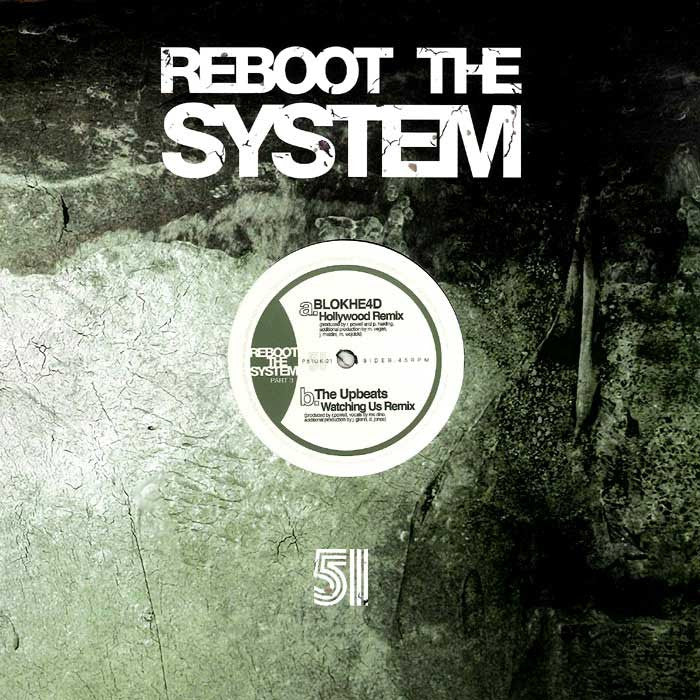 "Gridlok - Reboot The System (Part 3) 12"" Project 51 P51UK-21"
