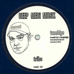 "Tunnidge - Dark Skies / Tribe 12"" Deep Medi Musik medi-34"