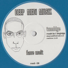 "Tunnidge - Geddeon / Face Melt 12"" Deep Medi Musik medi-08"