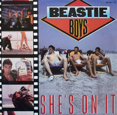 "Beastie Boys - She's On It 12"" Def Jam Recordings BEAST T2"