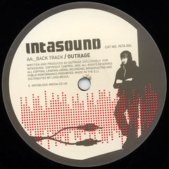 "Outrage - Critical Mass / Back Track 12"" Intasound INTA004"
