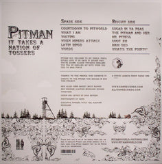 "Pitman - It Takes A Nation Of Tossers 12"" Son Records SON 026"