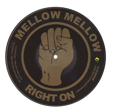 Otis Clay / Lowrell ‎– The Only Way Is Up / Mellow Mellow Right On - Mellow Mellow Right On ‎– MMRO010