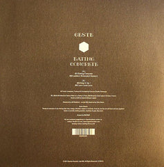 "Geste - Eating Concrete EP 12"" Equinox Records eqx-028"