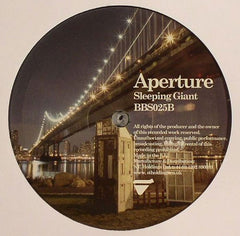 "Aperture - Need You Here / Sleeping Giant 12"" Breakbeat Science Recordings BBS025 (USED)"