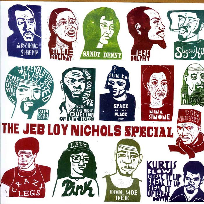 Jeb Loy Nichols - The Jeb Loy Nichols Special - City Country City CCC001V