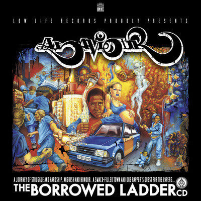 Asaviour - The Borrowed Ladder (CD) LOW43CD Low Life Records