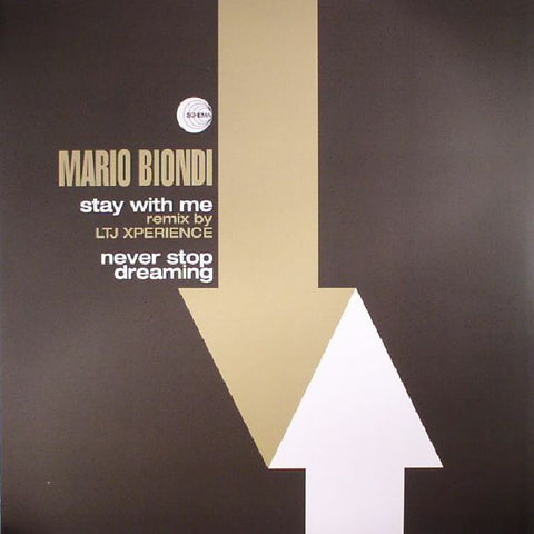Mario Biondi ‎– Stay With Me / Never Stop Dreaming - Schema ‎– SCEP478