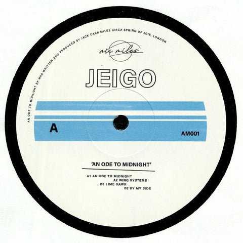 Jeigo ‎– An Ode to Midnight - air miles ‎– AM001