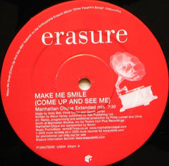 "Erasure - Make Me Smile (Come Up And See Me) 12"" Mute P12MUTE292"