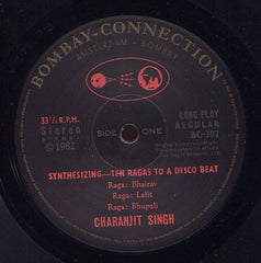 Charanjit Singh - Synthesizing: Ten Ragas To A Disco Beat - Bombay Connection BC 302-LP