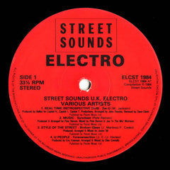 "Various - Street Sounds UK Electro 12"" ELCST1984 Street Sounds"