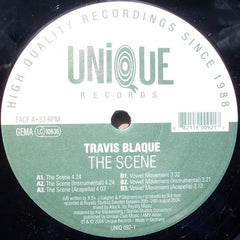 "Travis Blaque - The Scene 12"" Unique UNIQUE 092-1"