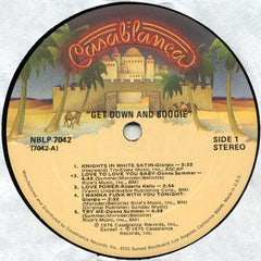 "Various - Get Down And Boogie 12"" Casablanca Records NBLP 7042"