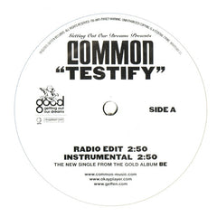"Common - Testify 12"" Geffen Records B0005583-11"