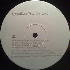 "Lynden David Hall - Forgive Me 12"" Cooltempo 12COOL 346"